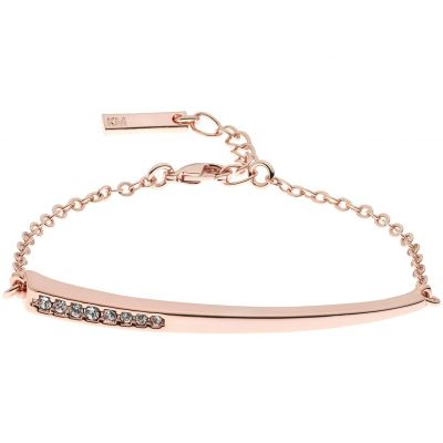 Ladies Karen Millen Rose Gold Plated Crystal Shard Bracelet KMJ1019-24-02