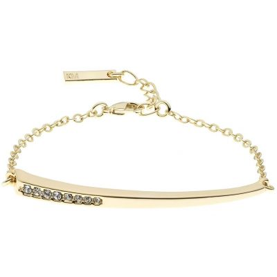 Ladies Karen Millen Gold Plated Crystal Shard Bracelet KMJ1019-30-02