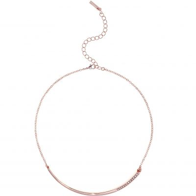 Ladies Karen Millen Rose Gold Plated Crystal Shard Choker KMJ1046-24-02