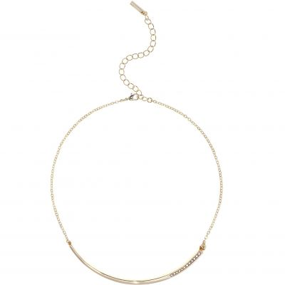 Ladies Karen Millen Gold Plated Crystal Shard Choker KMJ1046-30-02