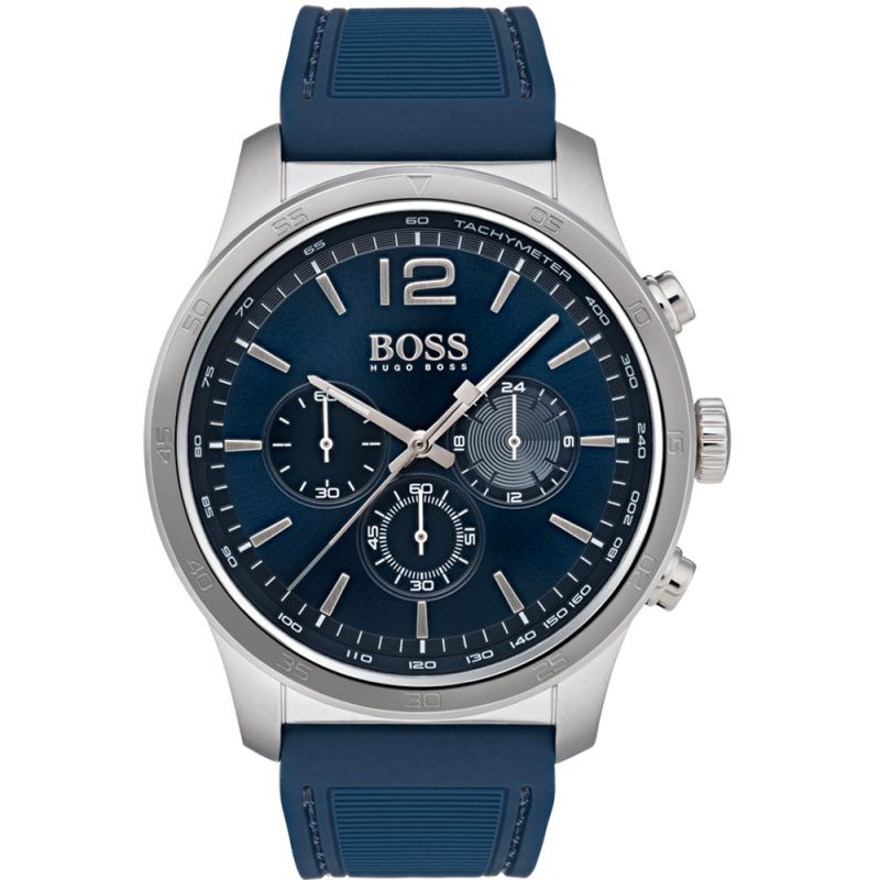 Mens Hugo Boss Professional Chronograph Watch