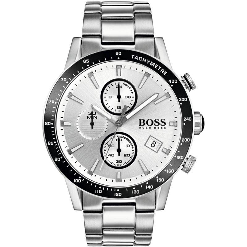 HUGO BOSS Hugo Boss Rafale Rafale Herrenchronograph in Silber 1513511