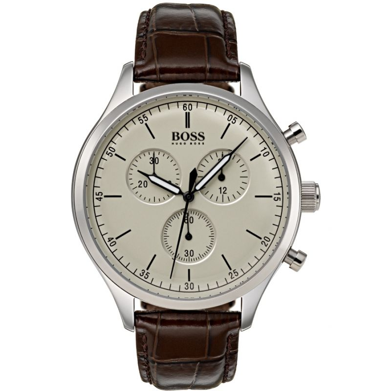 Mens Hugo Boss Companion Chronograph Watch 1513544