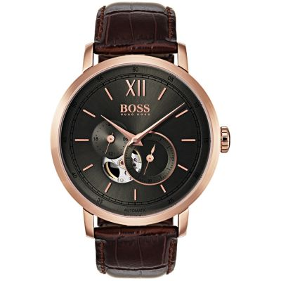 Hugo Boss Signature Timepiece Collection Signature Herrenuhr in Braun 1513506