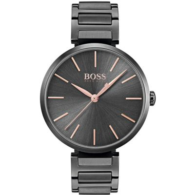 Hugo Boss Allusion Allusion Damenuhr in Grau 1502416