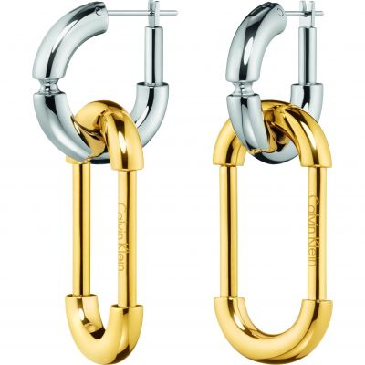 Ladies Calvin Klein Two-tone steel/gold plate Airy Earrings KJ7HJE200100