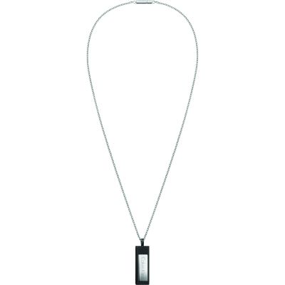 Mens Calvin Klein Stainless Steel Dapper Necklace KJ7QBP280100