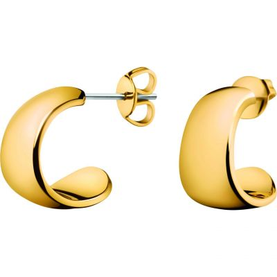 Ladies Calvin Klein Gold Plated Informal Earrings KJ6GJE100100