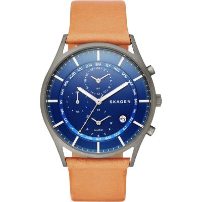 Skagen Holst Herrenuhr in Braun SKW6285