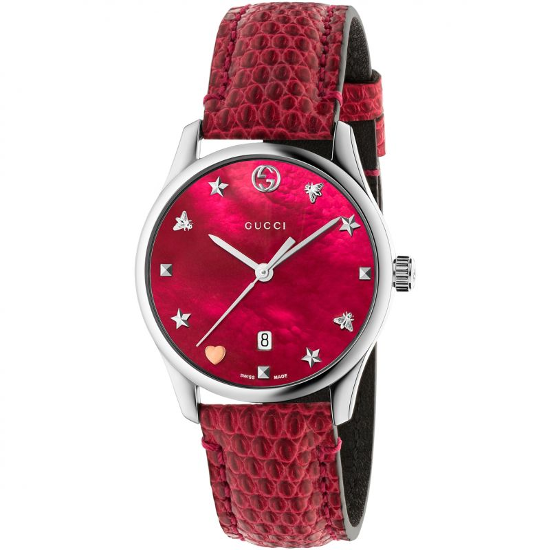 Ladies Gucci G-Timeless Watch YA1264041