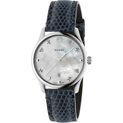 Gucci G-Timeless Damenuhr in Blau YA126588