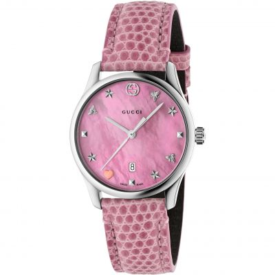 Gucci G-Timeless Damenuhr in Pink YA126586
