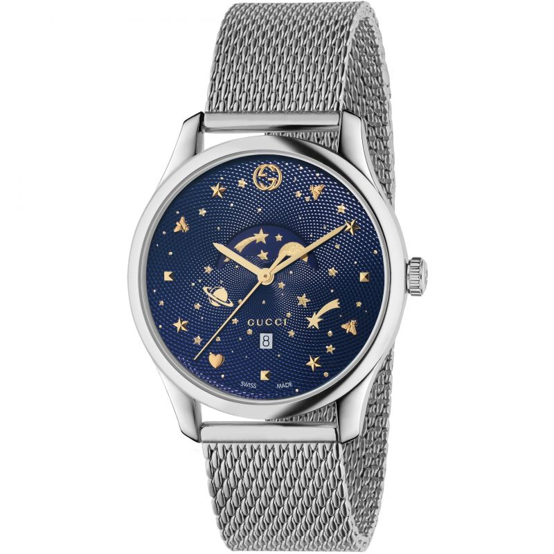 Unisex Gucci G-Timeless Slim Moonphase Watch