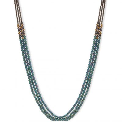 Biżuteria damska Lonna And Lilly Beaded Double Strand Necklace 60477603-900