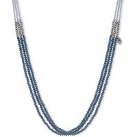Ladies Lonna And Lilly Silver Plated Beaded Double Strand Necklace 60477612-276