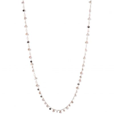 Ladies Lonna And Lilly Silver Plated Necklace 60440735-9DH