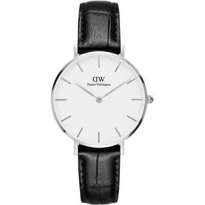 Daniel Wellington Classic Petite Reading Unisexuhr in Schwarz DW00100185