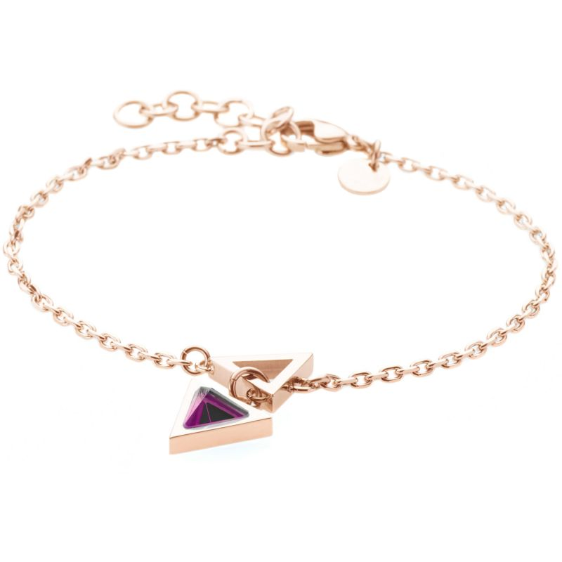 Ladies STORM Rose Gold Plated Triana Bracelet 9980766/RG