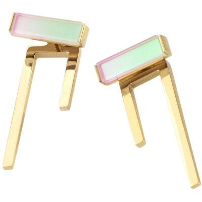 Ladies STORM Gold Plated Tigi Earrings 9980780/GD