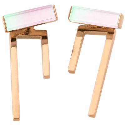 Ladies STORM Rose Gold Plated Tigi Earrings 9980780/RG
