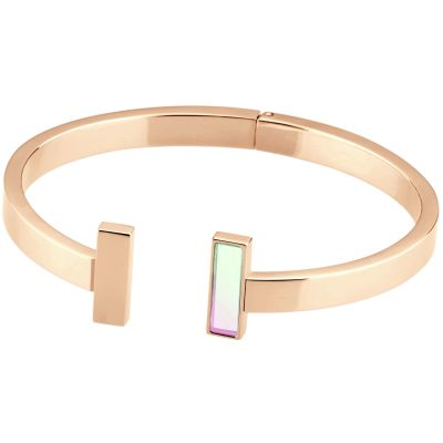 Ladies STORM Rose Gold Plated Tigi Bangle 9980781/RG