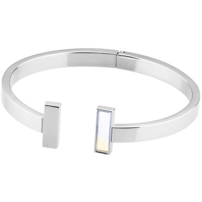 Ladies STORM Silver Plated Tigi Bangle 9980781/S