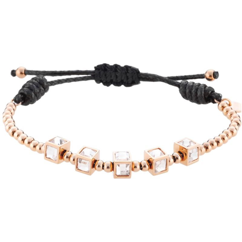 Ladies STORM Rose Gold Plated Zora Bracelet ZORA-BRACELET-ROSE-GOLD