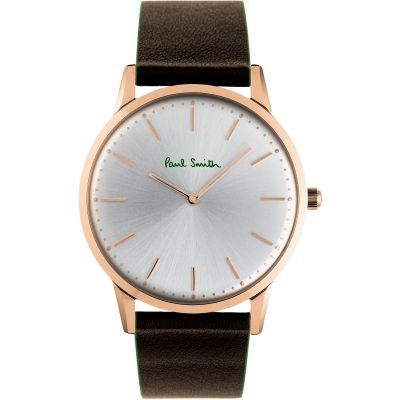 Paul Smith Slim Unisexuhr in Braun PS0100002
