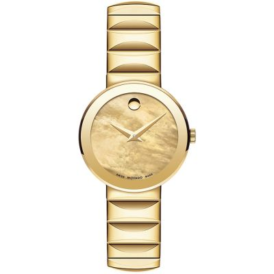 Ladies Movado Sapphire Watch 0607049