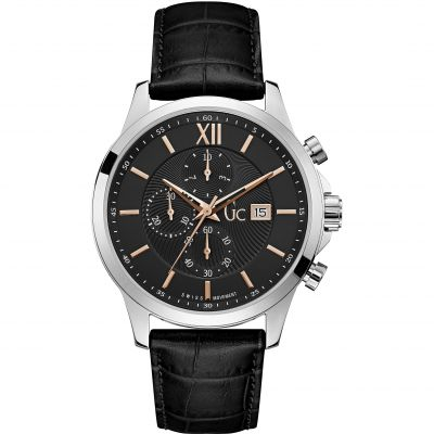 Gc Executive Herenchronograaf Zwart Y27001G2