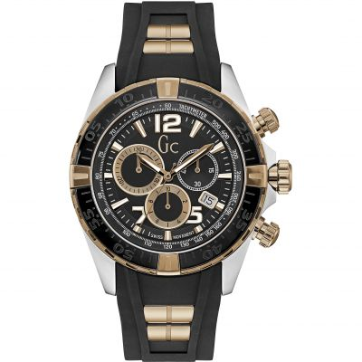 Mens Gc Sportracer Chronograph Watch Y02011G2