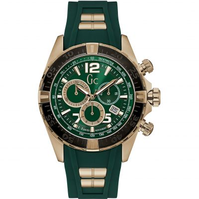 Mens Gc Sportracer Chronograph Watch Y02013G9