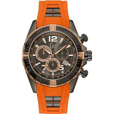 Mens Gc Sportracer Chronograph Watch Y02012G5