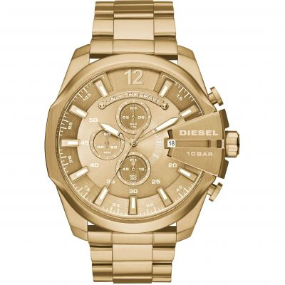 Diesel Chief Herrenchronograph in Gold DZ4360