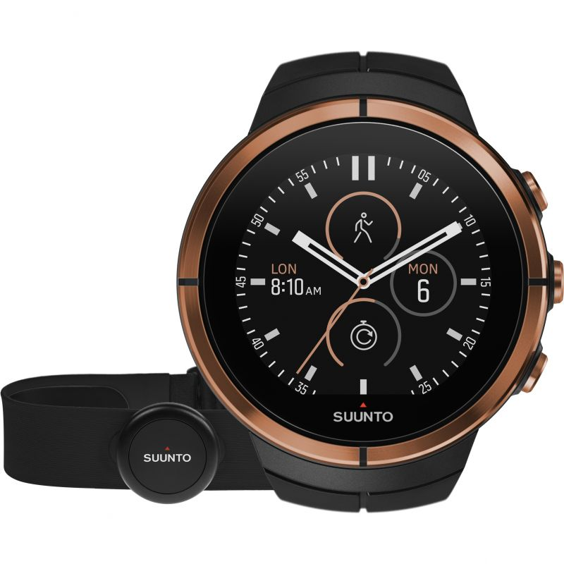 Unisex Suunto Spartan Ultra Bluetooth GPS Copper Special Edition Alarm Chronograph Watch