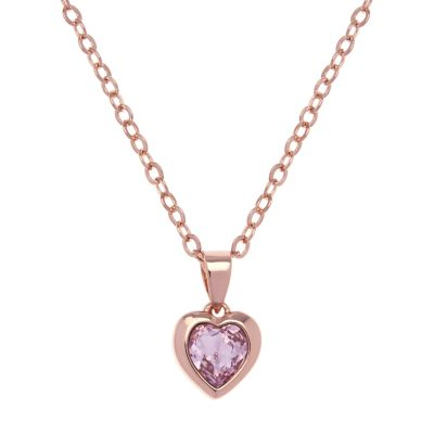 Biżuteria damska Ted Baker Jewellery Crystal Heart Necklace TBJ1681-24-226