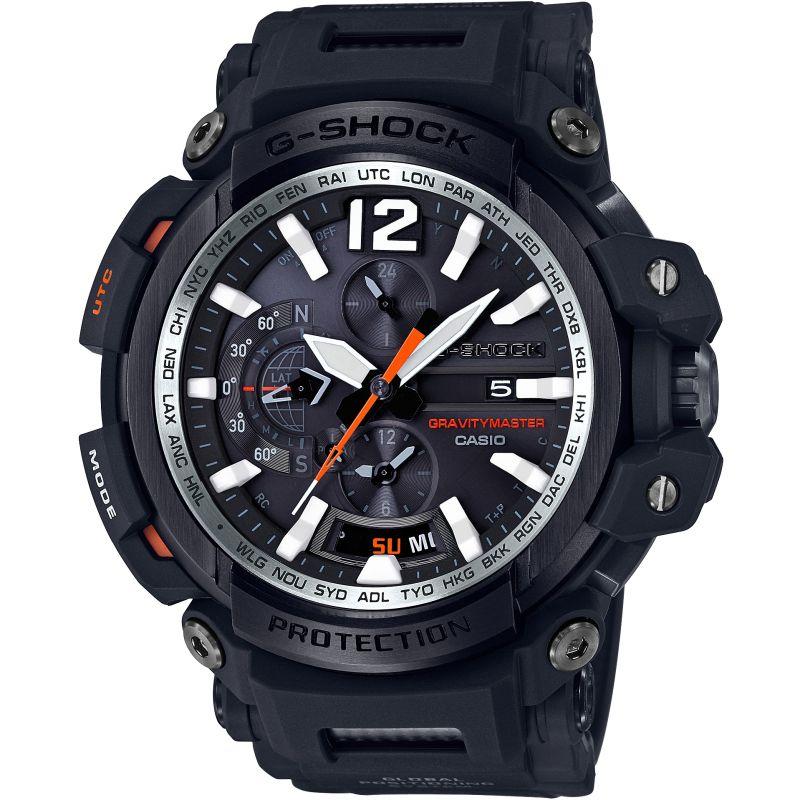 Mens Casio G-Shock Gravitymaster Bluetooth GPS Alarm Chronograph Watch