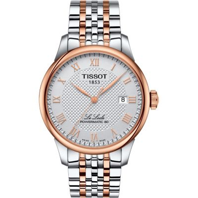 Tissot Le Locle Powermatic 80 Herrenuhr in Zweifarbig T0064072203300