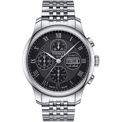 Mens Tissot Le Locle Automatic Chronograph Watch T0064141105300