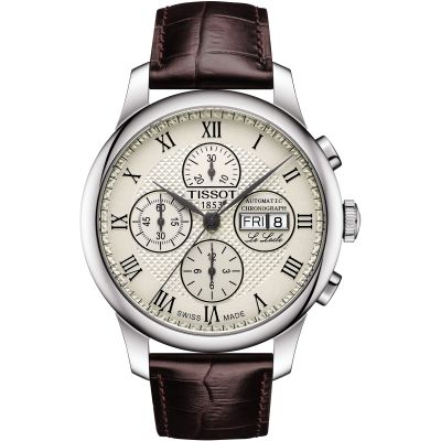 Mens Tissot Le Locle Automatic Chronograph Watch T0064141626300