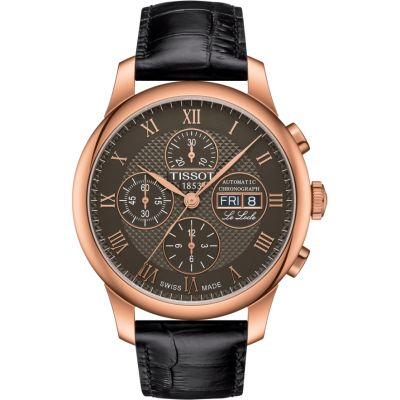 Tissot Le Locle Herenchronograaf Bruin T0064143644300