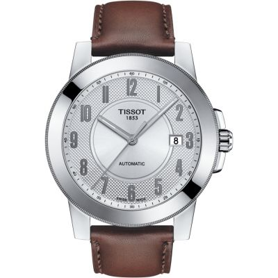 Mens Tissot Gentleman Automatic Watch T0984071603200
