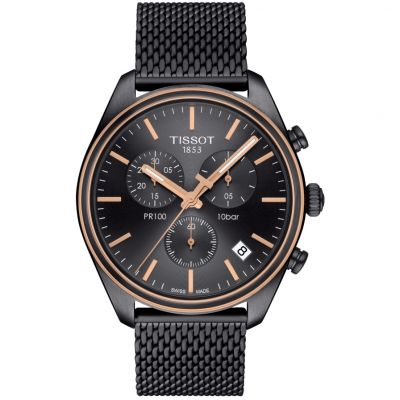 Mens Tissot PR100 Chronograph Watch T1014172306100