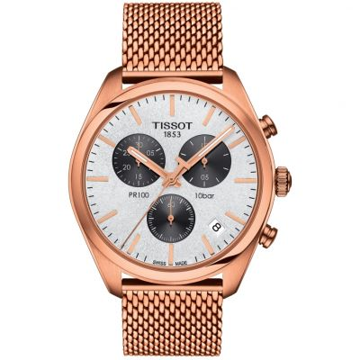 Mens Tissot PR100 Chronograph Watch T1014173303101