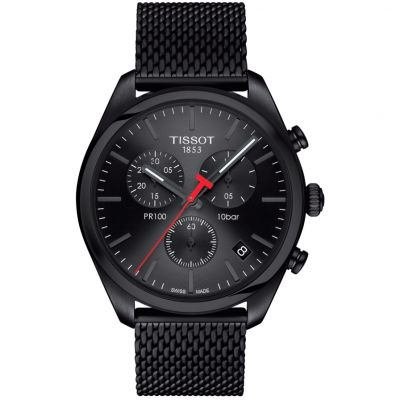 Mens Tissot PR100 Chronograph Watch T1014173305100