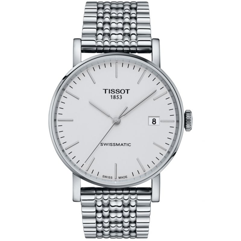 Mens Tissot Everytime Swissmatic Automatic Watch T1094071103100