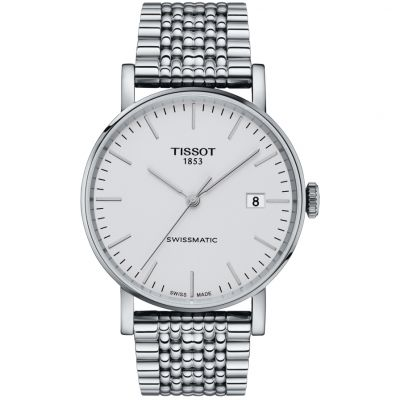 Tissot Everytime Swissmatic Herrenuhr in Silber T1094071103100