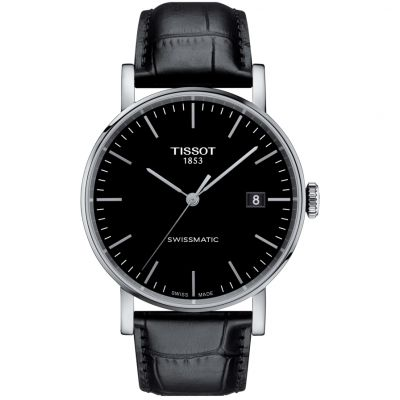Tissot Everytime Swissmatic Herrenuhr in Schwarz T1094071605100