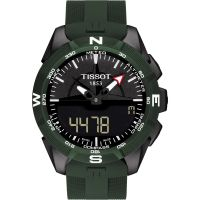 Mens Tissot T-Touch Expert Solar II Alarm Chronograph Solar Powered Watch T1104204705100