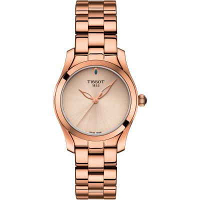 Tissot T-Wave II Dameshorloge Rose T1122103345100